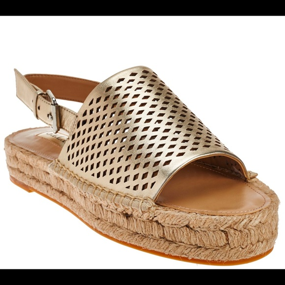 gros en ligne grande collection vente de sortie G.I.L.I espadrille sandals in gold